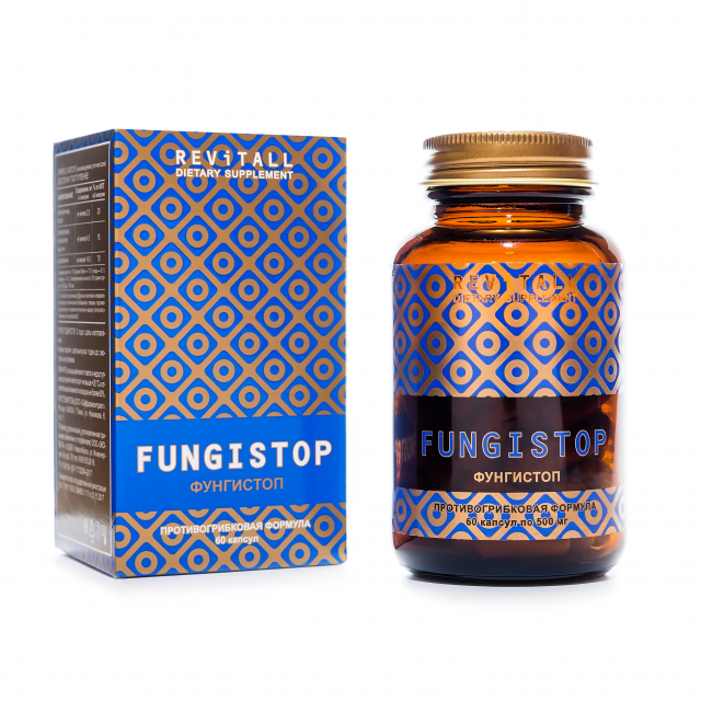 Revitall FUNGISTOP, 60 капсул