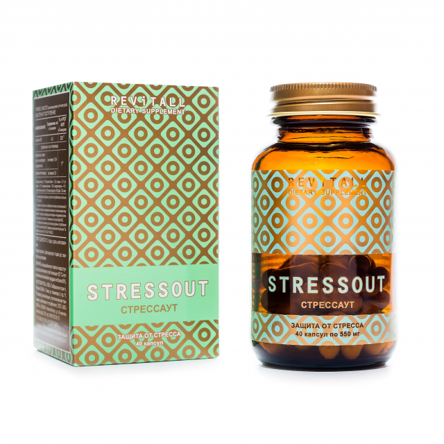 Revitall STRESSOUT, 40 капсул