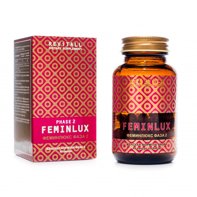 Revitall FEMINLUX РHASE 2, 40 капсул