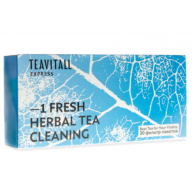 TeaVitall Express Fresh 1, 30 фильтр-пакетов