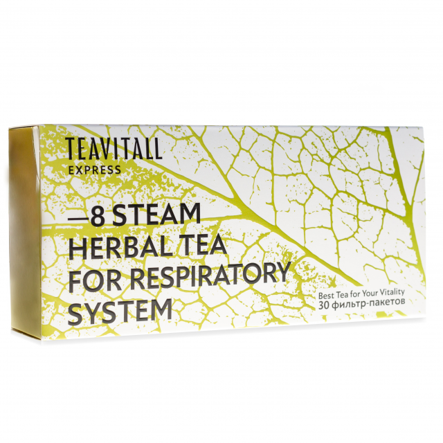 TeaVitall Express Steam 8, 30 фильтр-пакетов