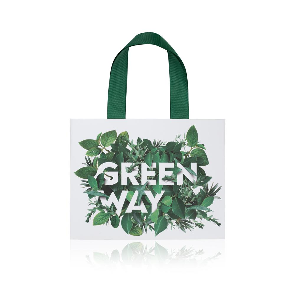Пакет подарочный «Greenway» малый